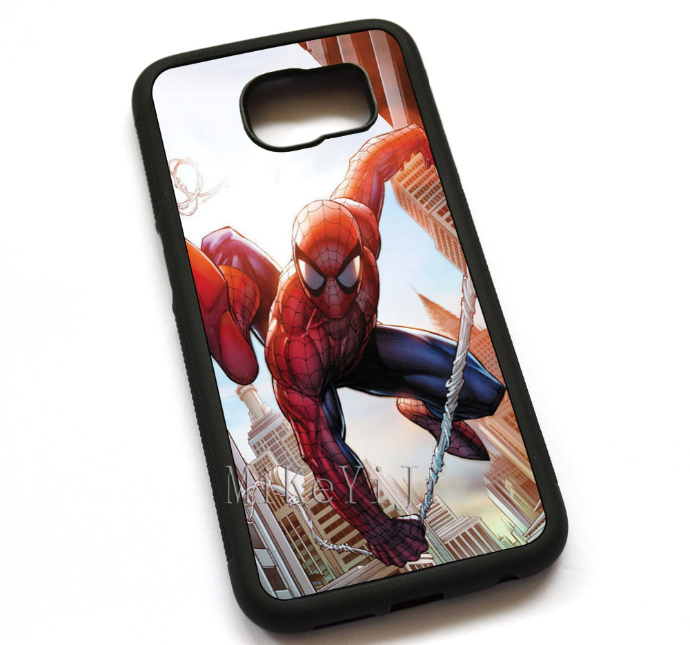 <font><b>Spider</b></font> <font><b>Man</b></font> Marvel Comics <font><b>Case</b></font> Cover, <font><b>Case</b></font> For <font><b>Samsung</b></font> <font><b>Galaxy</b></font> S5 S6 S7 S7edge