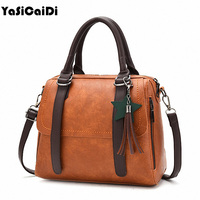 YASICAIDI Women Shoulder Bag Female Star Tassel Accessories Women Handbag Lady Simgle Style Bag Tote Women