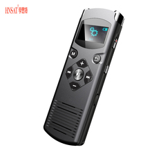 Hnsat DVR-616 Voice Recorder 4GB/8GB/16GB Digital Audio Conference Recorder With Speakers HD Stereo Recording Tools