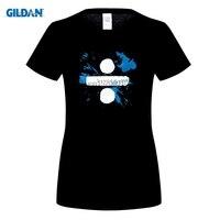 GILDAN Hight t-shirt Manica Corta in cotone Ed Sheeran Divide red ali Delle Donne della camicia Hop Rottura camisa