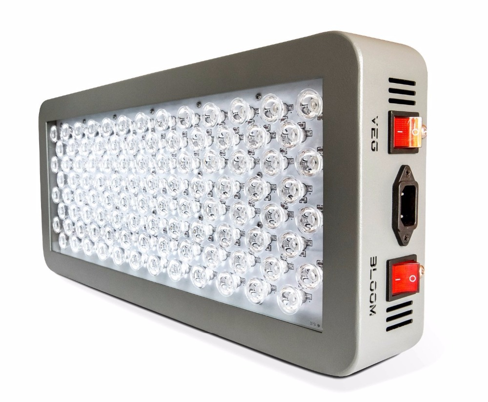 P300 P600 LED grow light 300W dual mode veg bloom full spectrum uv ir optical lens