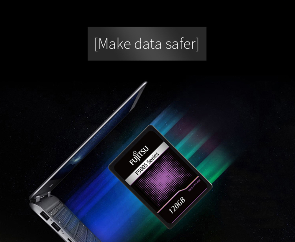 FUJITSU ssd 240 gb 2.5inch 120 gb 480GB SATA 6Gb/s TLC Read/Write Speed 500MB/s 3year warranty Solid State Drives for PC laptop 53