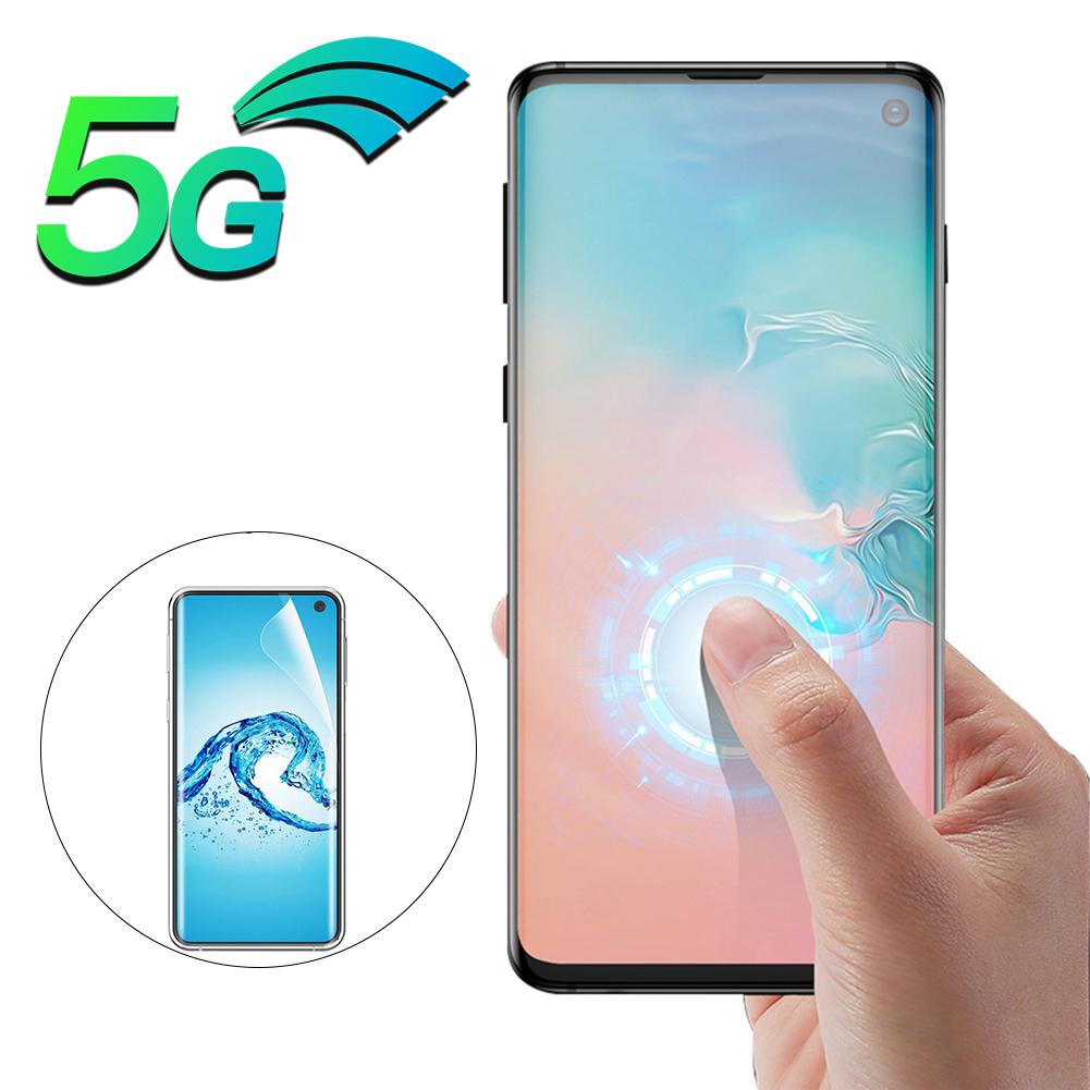 3D Full Cover Screen Protector TPU Film For Samsung Galaxy S10 Plus 5G Ultra Soft Clear Hydrogel Front Film For Samsung S10 Lite