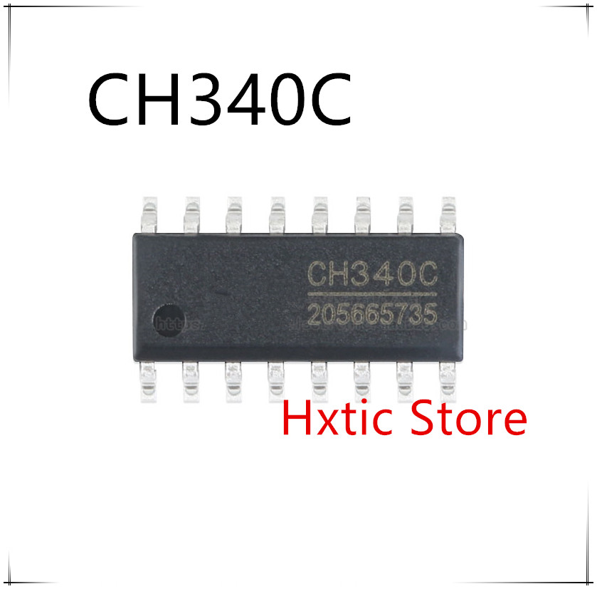 20pcs/lot CH340C SOP-16 USB Serial Chip