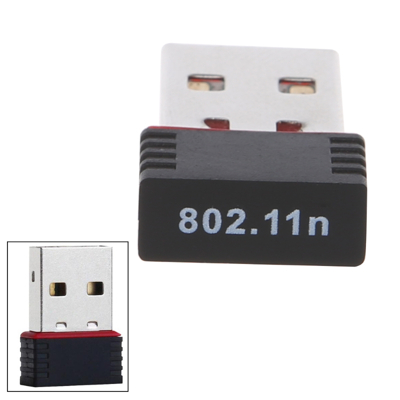 150Mbps USB 2.0 WiFi Wireless Adapter Network LAN Card 802.11 Ngb Ralink MT7601