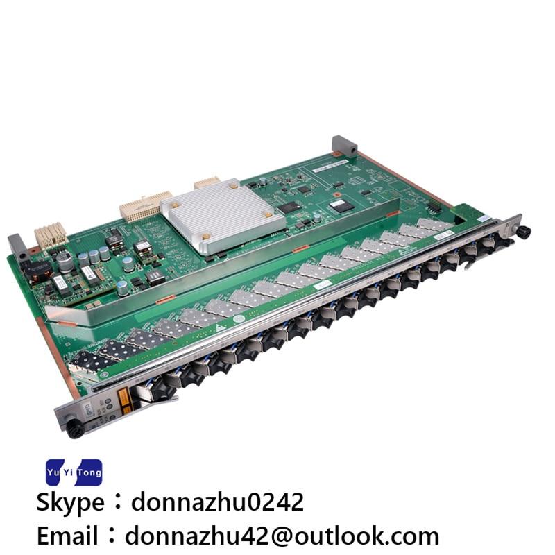 bilder für Original huawei ma5680t olt 16 ports gpon brett gpfd mit 16 sfp c + module
