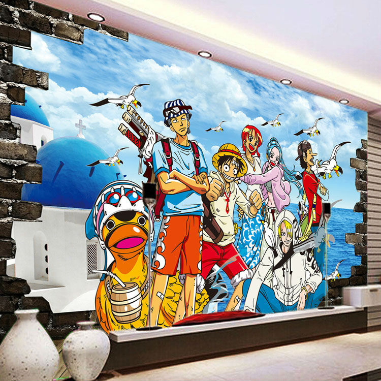 One Piece Photo Wallpaper Custom 3D Wallpaper Japanese