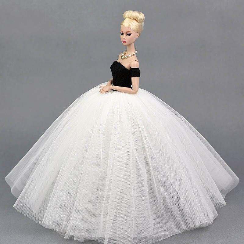 Bonecas elegante senhora de casamento vestido Atributo Bjd/sd : Vestido Estilo Ocidental