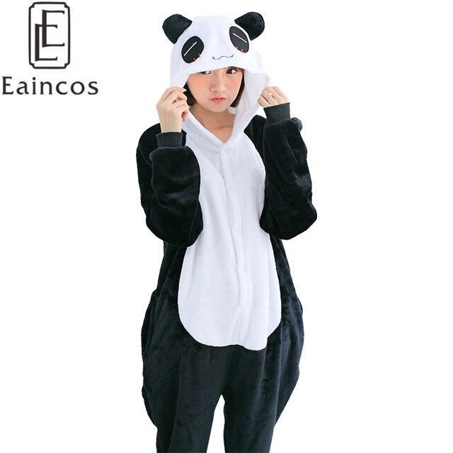 a450ce30e55a Adults Flannel Onesie Pajamas Cute Cartoon Animal Panda Pyjamas Cosplay  Party Costume Pijamas Sleepwear For Men Sc 1 St AliExpress.com