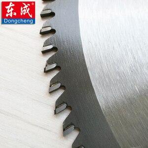 """Image 3 - 10 """"120 zębami TCT ostrza piły tarczowej do Aluminium 255mm 100 zęby pilarka stołowa ostrza do cięcia Aluminium otwór 25.4 lub 20.0mm"""