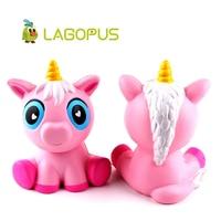 Lagopus Squishy Slow Rising Kawaii Unicorn Toys For Kids Jumbo Squishy Slow Rising Soft Animal Squeeze