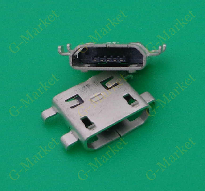 Micro mini USB jack socket connector dock plug 5pin Voor Alcatel One Touch POP 7 P310A Acer ICONIA A1-830 A1-810 poort opladen