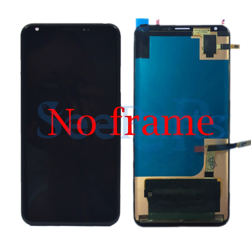 100% Tested Working For 6.0 LG V30 LCD H930 LCD Touch Screen Digitizer Assembly For LG V30 LCD VS996 LS998U H933 LS998U 4