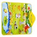 Bebê dos miúdos Farm Animal Musical Música Toque em Reproduzir Cantando Ginásio Carpet Mat Toy Presente atacado