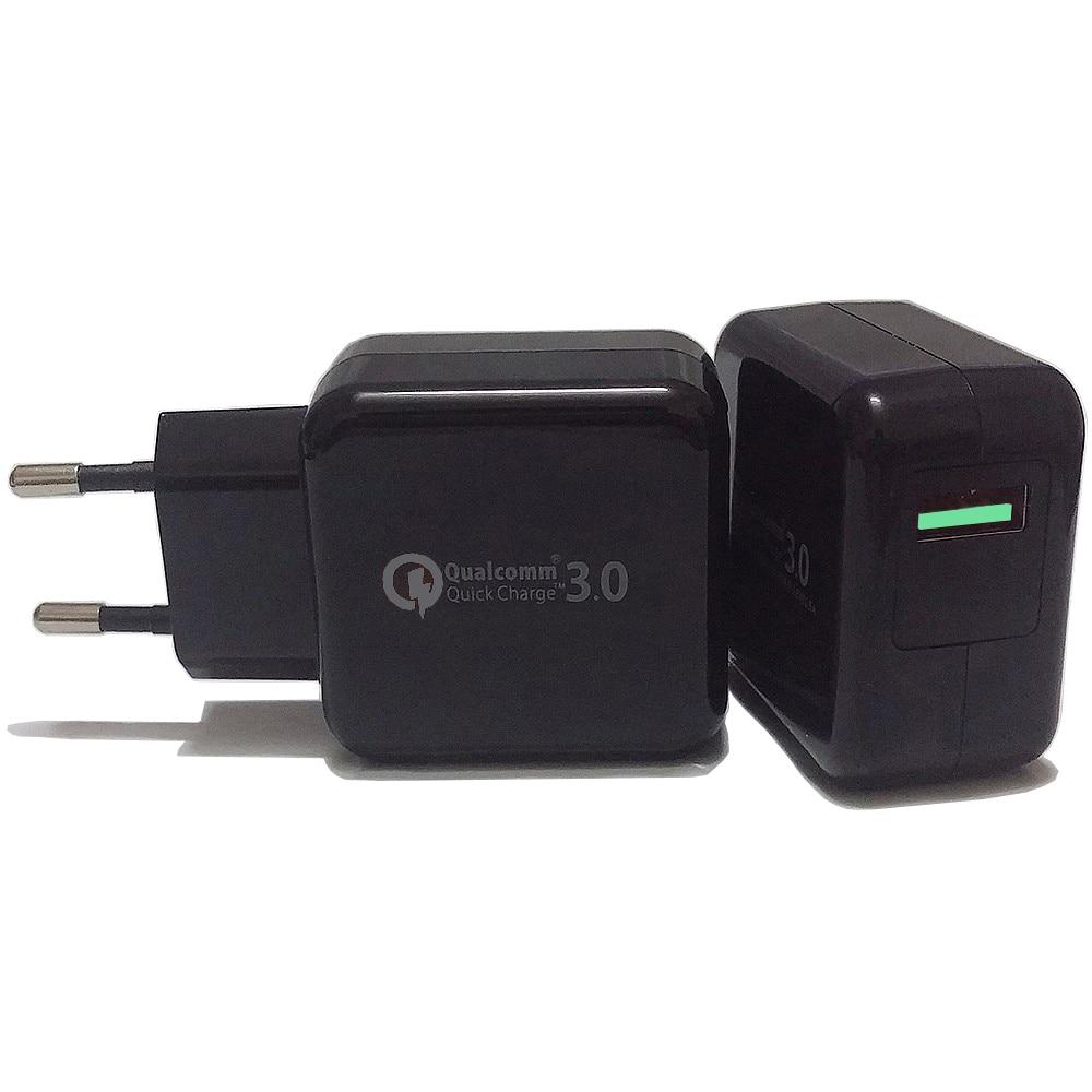 18W Quick Charge 3.0 QC 3.0 USB Turbo Wall Fast Travel Charger för - Reservdelar och tillbehör för mobiltelefoner - Foto 4