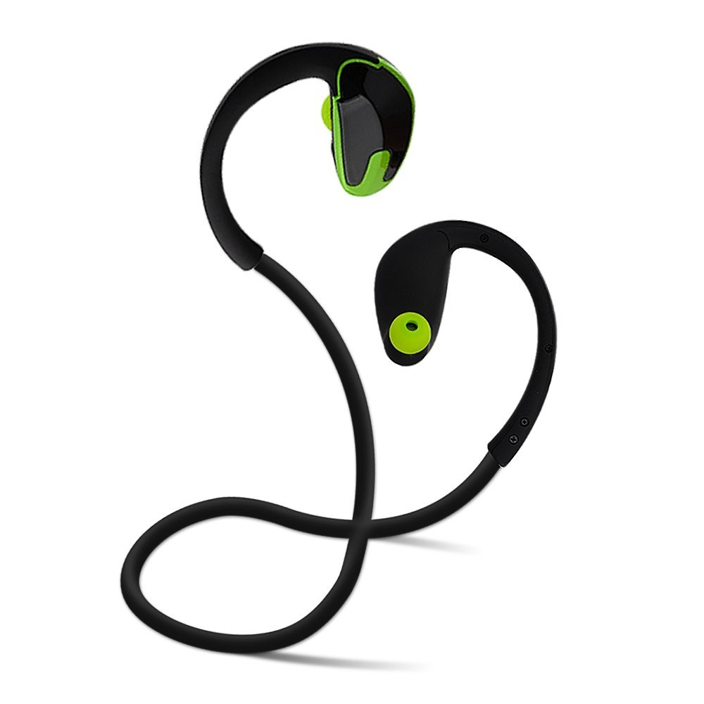 Bluetooth Headphones for Running Workout Exercise, Noise Cancelling Earphones for Celltp ...