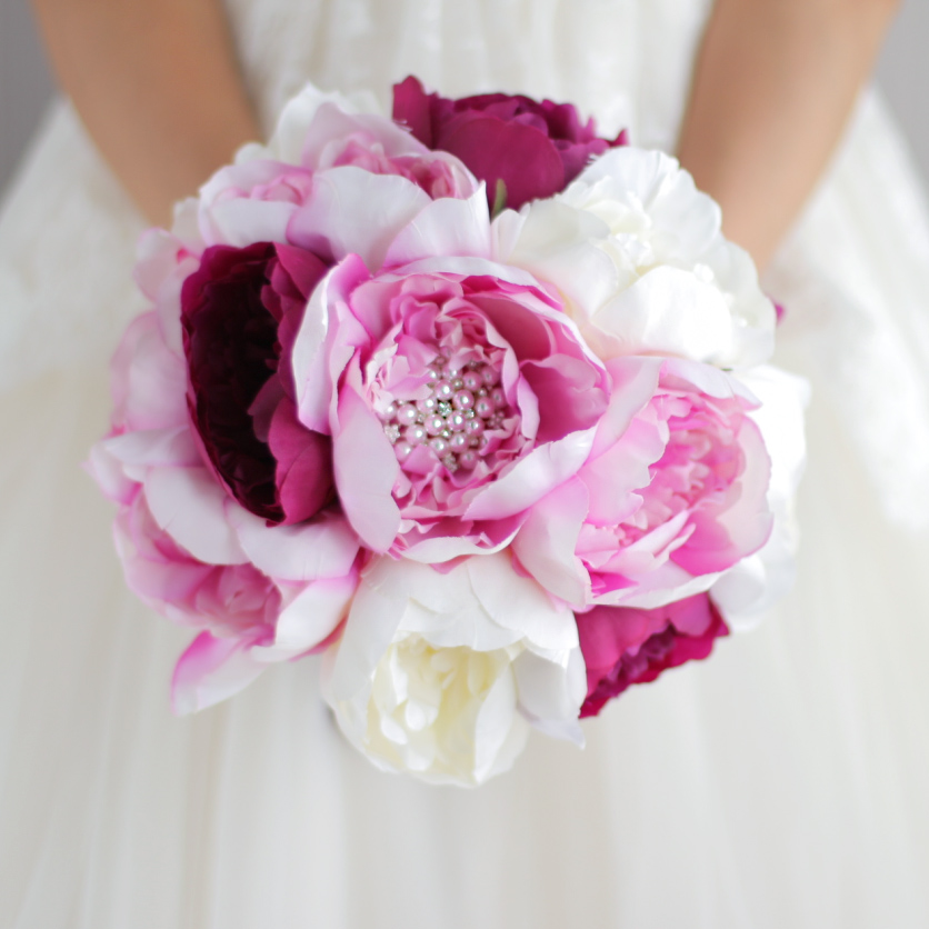 Wedding Bouquets Ideas Simple: Aliexpress.com : Buy New Simple Style, Bridal Pink Bouquet