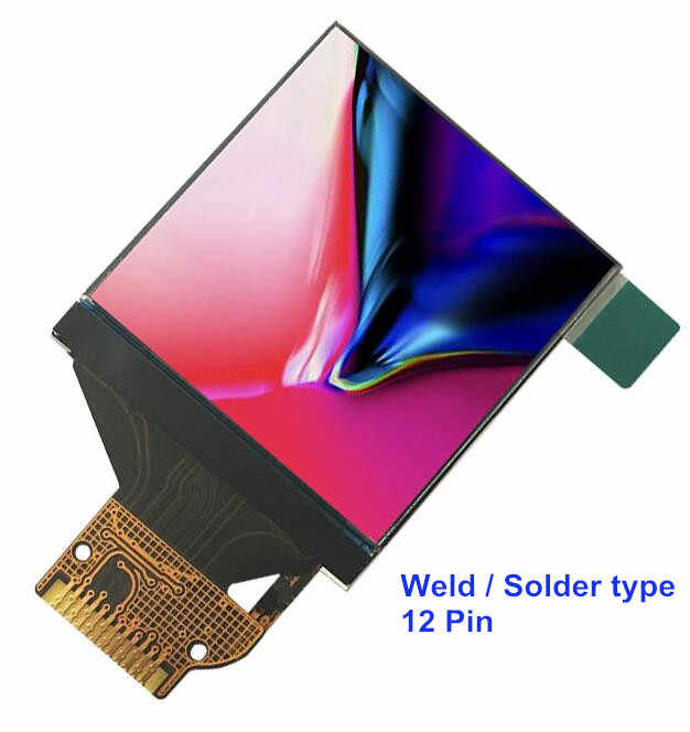 New IPS color screen 1.3inch TFT LCD display Module Connector Socket type 24 Pin ST7789 Controller 7pin 240*240 resolution