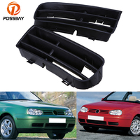 POSSBAY Left Right Side Car Lower Bumper Grills Grille Cover for VW Golf/Variant/4 Motion 1998/1999/2000 2006 Car Replacement