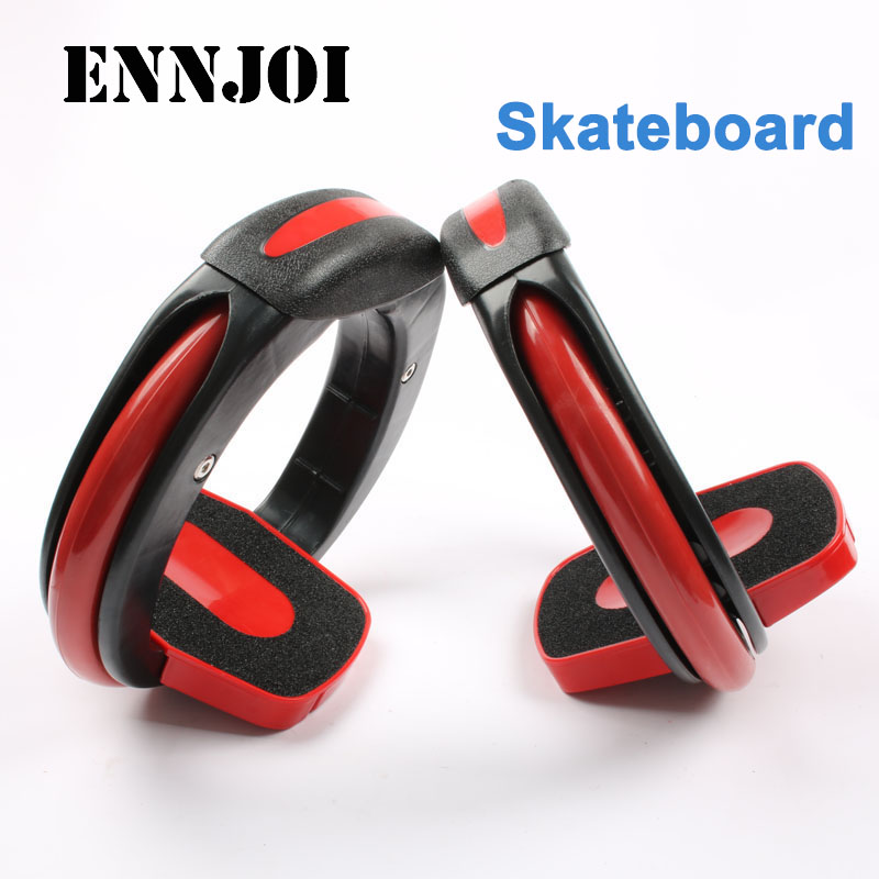 Black Red Child Plastic Material Outdoor Skateboard Sports High Speed Drift Skate Board With Roller Whirlwind Skateboard