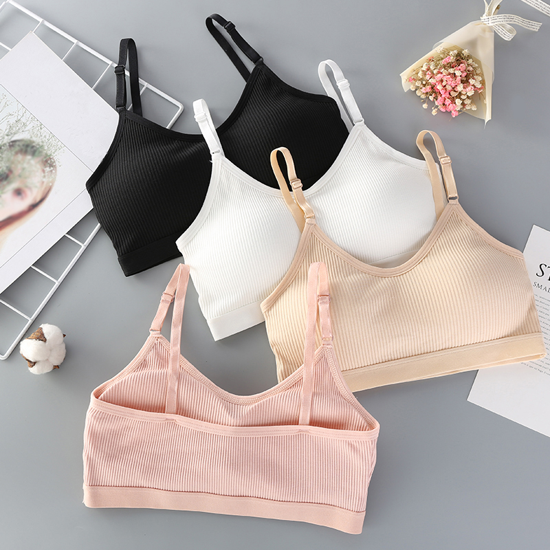 Women Seamless Bra Tube Top Sexy Underwear Wireless Female Bras Top Sexy Cropped Lingerie Fashion Basic Bandeau Cropped Top