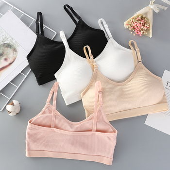 Women Seamless Bra Tube Top Sexy Underwear Wireless Female Bras Cropped Lingerie Fashion Basic Bandeau - discount item  10% OFF Women's Intimates