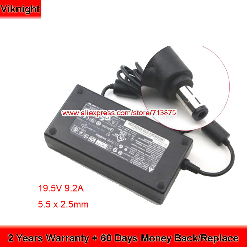 Fast Shipping Delta 19.5V 9.2A ADP-180NB BC AC Adapter Power For MSI GT70 GT60 2OC-059US LaptopFast Shipping Delta 19.5V 9.2A ADP-180NB BC AC Adapter Power For MSI GT70 GT60 2OC-059US Laptop