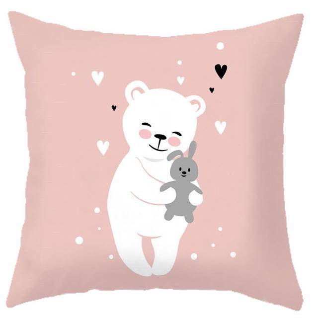 HTB1yJPFRHrpK1RjSZTEq6AWAVXaN Custom Baby Cartoon Cushion Whale Print Nordic Kids Decoration Cute Rabbit Bear Eyelashes Love Decorative Pillows For Office Car