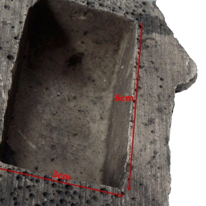 2018 Full Resin Stone Key Box Hidden in Stone Safe Storage Hidden Outdoor Garden Durable Quality