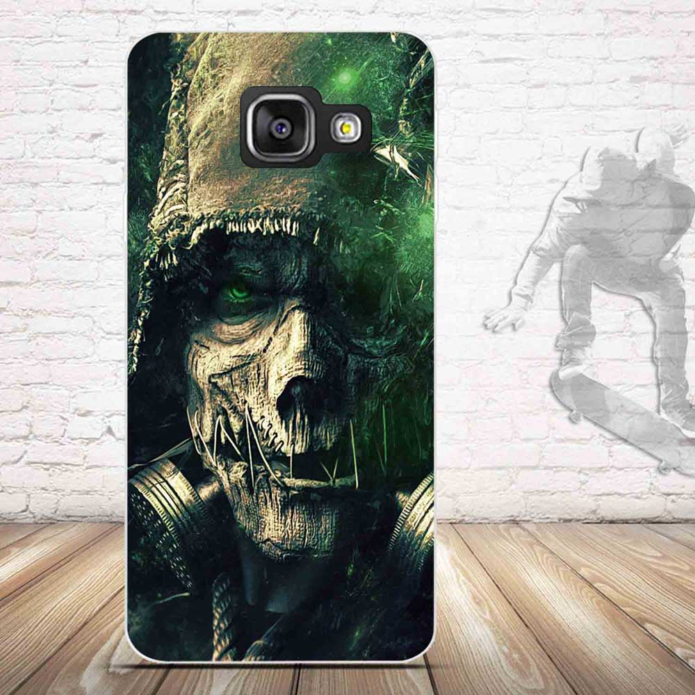 TPU Soft Case for Samsung Galaxy A3 2016 A310 Cases Back Silicone Phone Cover For Samsung A3(2016) 3D Relief Printing Covers Bag