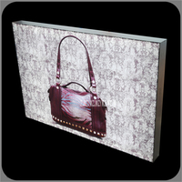 TY DX Outdoor Advertising LED Backlit Light Box Aluminum Picture Frame Menu Led Backlit Poster Frame Light Box 70mm/120mm/140mm