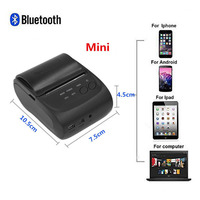 Mini Wireless 58mm Portable Bluetooth Thermal Printer Receipt for Android Mobile New And High Quality