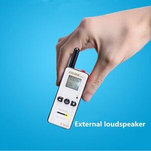 Image 3 - 2 Chiếc 400 480 Mhz Cầm Tay Trẻ Em 2 Chiều Đài Phát Thanh 128 Kênh T M2D Mini Đàm Bộ Siêu Tí Hon FRS /Gmrs Walky Talky Trẻ Em Radio