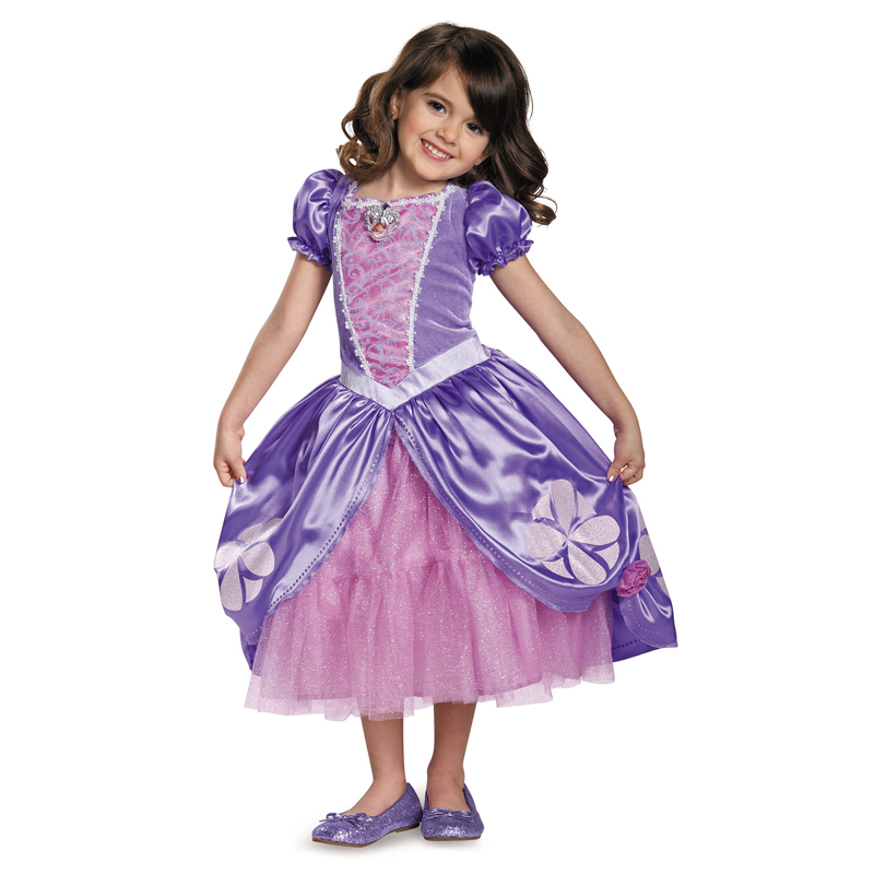 Deluxe Girls Sofia The First Next Chapter Fancy-Dress Halloween Costume