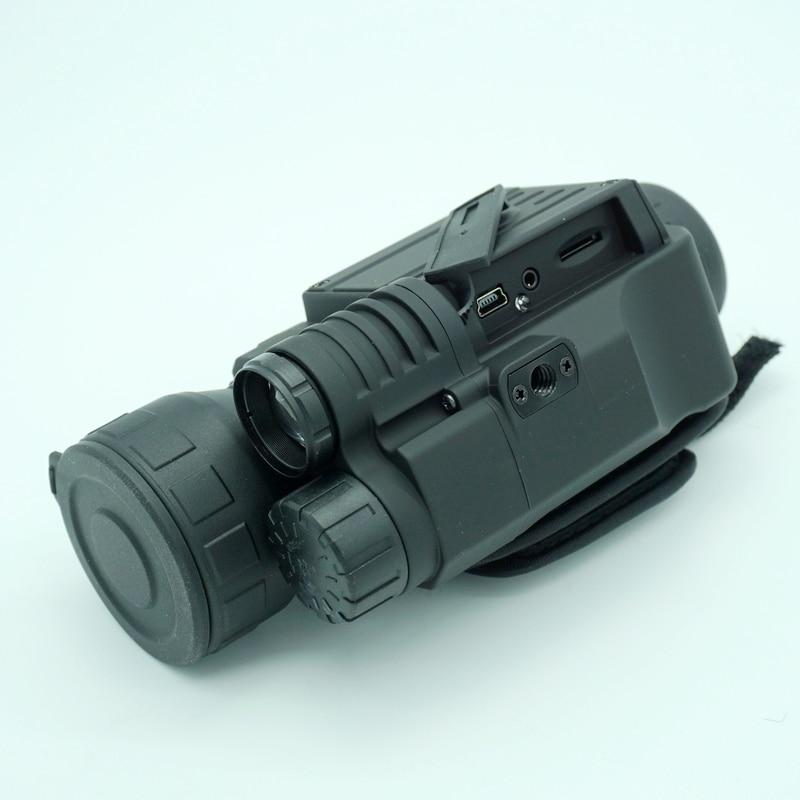 Infrared digital Night vision monocular scope 5x40 IR digital camera video for hunting  Night vision scope NV005 5x40 bak4 prism infrared night vision monocular camera