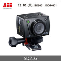 Profesjonalne Jazdy SD21G AEE Camera Action Cam 1080 P HD 100 m Wodoodporna kamera DV recorder