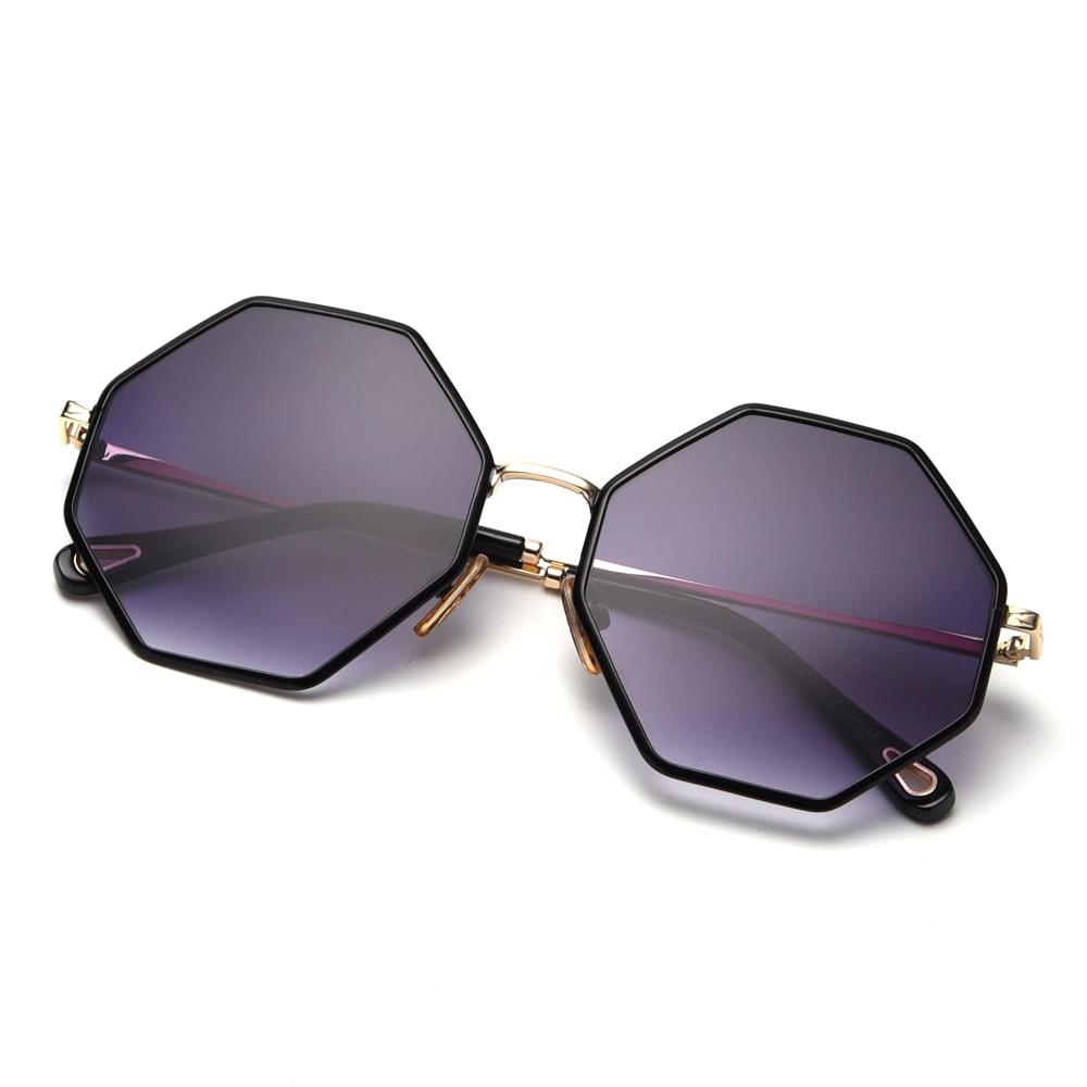 Lunettes de soleil sunglasses HOMME FEMME carré tendance octogonale