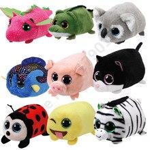10CM Ty Beanie Boos Bee Koala Black Cat Zebra Unicorn Plush Regular Stuffed  Collectible Doll Toys 9e2b8261145