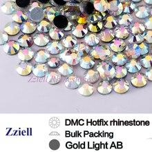Bulk Large Pack Crystal AB Wholesale Hotfix Rhinestones SS6-SS30 MC Glass Flatback Strass Stone For Nail Garment Accessories