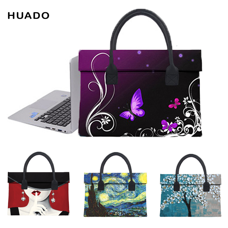 women laptop bag for macbook air/pro/ xiaomi notebook air 13.3 15.6 fashion laptop sleeve