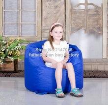 Crianças cadeira do saco de feijão, ao ar livre beanbag prouf, sentar externo móveis