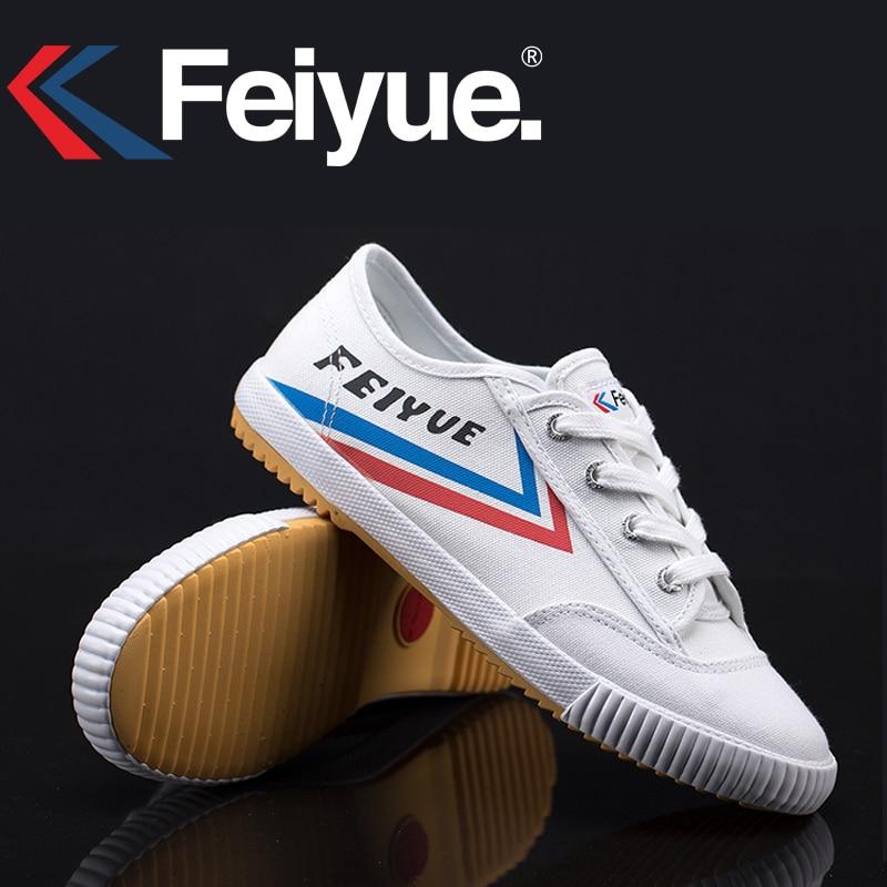 Feiyue KungFu Shoes French Original Sneakers Martial Arts Tai Chi Taekwondo Wushu Classic Arts Shoes Women Men Shoes