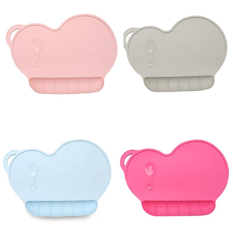 Full Range Of Specifications And Sizes And Great Variety Of Designs And Colo Official Website Infant Portable Waterproof Dish Plate Mat Children Kids Plate Sucker Pad Dining Tableware Mat Food Grade Silicone Placemat Famous For High Quality Raw Materials