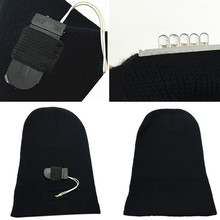LED Knit Hat Beanies Flashlight Headlamp Outdoor Sport Caps Climbing Fishing Cycling Running Camping Winter Windproof Equipment