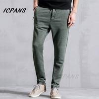 ICPANS Joggers Pants Trousers Sweatpants Male Casual Pants Joggers Men Slim Spring Autumn Long Trousers Hombre Size XXXL