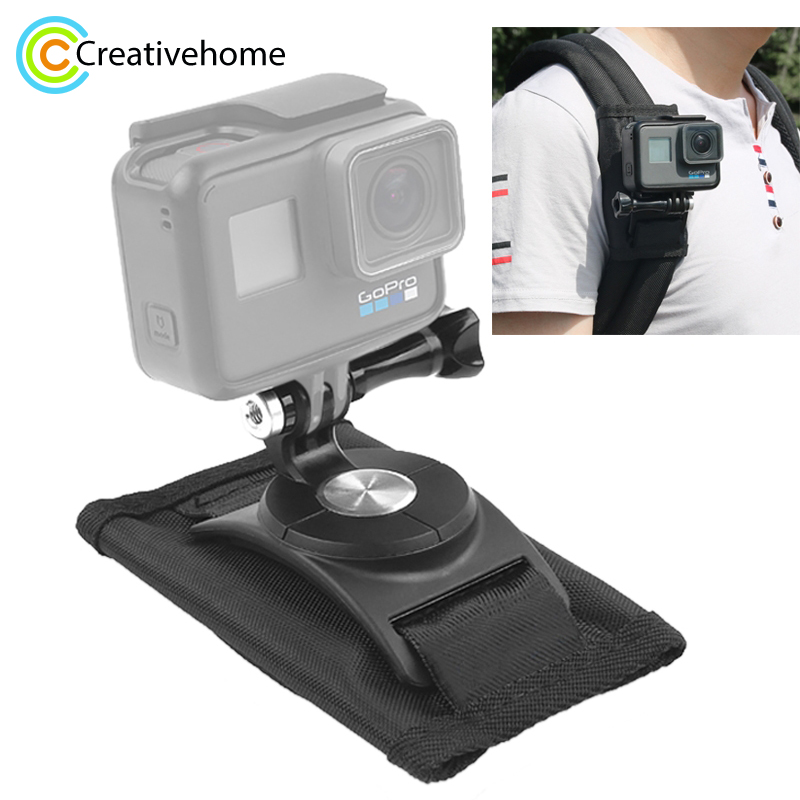 360 Degree Rotating Quick Release Strap Mount Shoulder Backpack Mount for GoPro HERO6 /5 /5 Session /4 Session /4 /3+ /3 /2 /1 wta finals singapore session 2