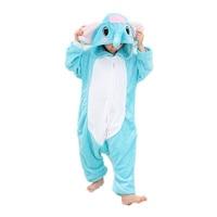 Unisex Kids Elephant Costume Pajamas Animal Onesie Kigurumi Children S Halloween Christmas Lounge Wear