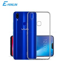 Coque arrière en Silicone souple transparent pour BBK vivo V19 V17 Neo V15 V11i V11 Pro V9 jeunesse V7 Plus S1 Pro Global chine ultra-mince(China)