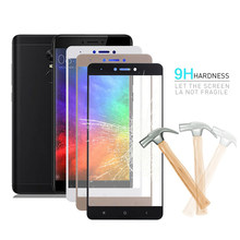 9H 0.26mm Full Cover Tempered Glass For Xiaomi Redmi Note 4 Pro 64GB 4G 4X 3G 32GB Note 4 X Screen Protector Clear Glas Sklo(China)