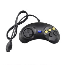 Classic Wired for Sega 2 generation handle neutral Game Controller 6 Button Gamepad(China)